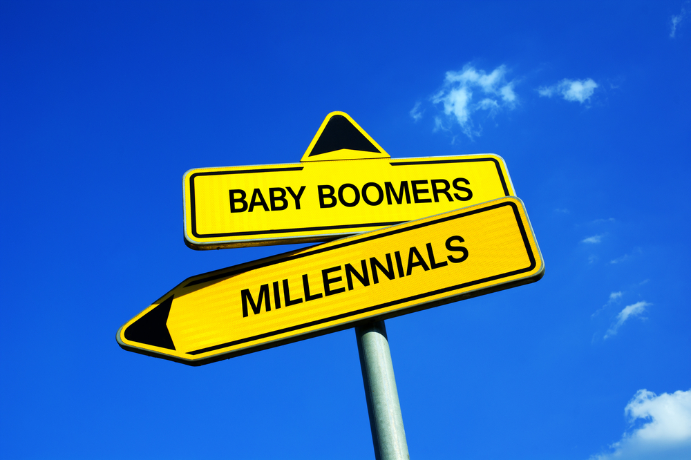 Millennial vs Baby Boomer Speed